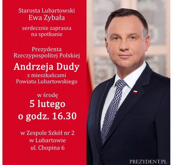 Miniaturka artykułu Spotkanie z Prezydentem RP Panem Andrzejem Dudą