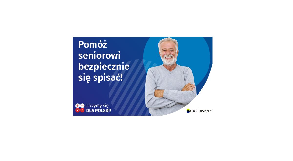 Miniaturka artykułu Narodowy Spis Powszechny Ludności i Mieszkań 2021 – 10 porad spisowych dla seniorów.