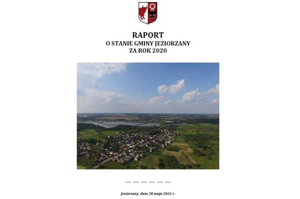 Miniaturka artykułu Raport o stanie Gminy Jeziorzany za rok 2020