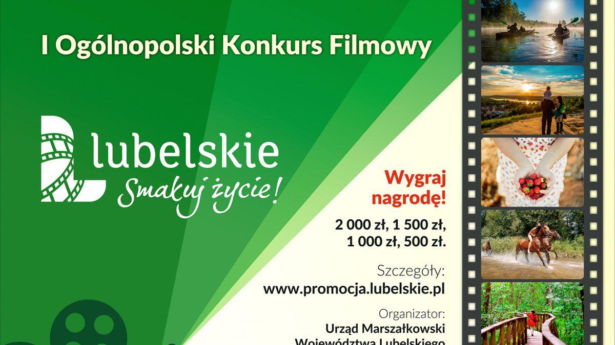 """Miniaturka artykułu I edycja Ogólnopolskiego Konkursu Filmowego """"Lubelskie. Smakuj życie!"""""""