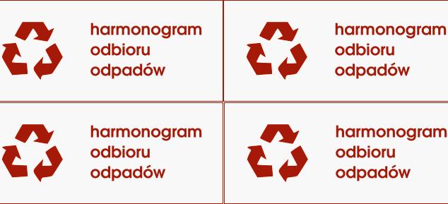 Miniaturka artykułu Harmonogram odbioru odpadów 2021-2022
